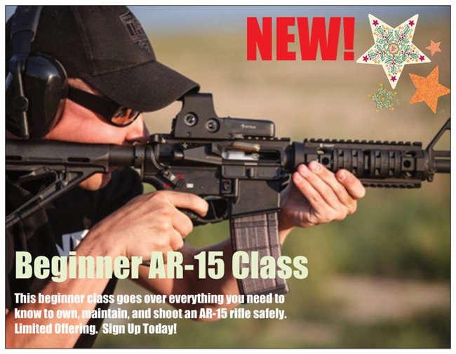 Nevada AR-15 Rifle Classes