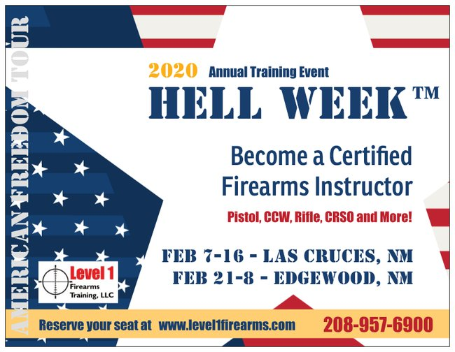 Unm Winter Intersession Courses 2020.New Mexico Firearms Training Level 1 Firearms Training